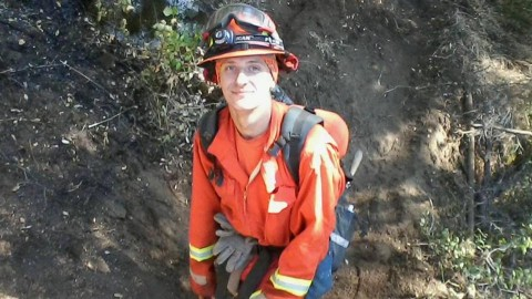 firefighting prisoner
