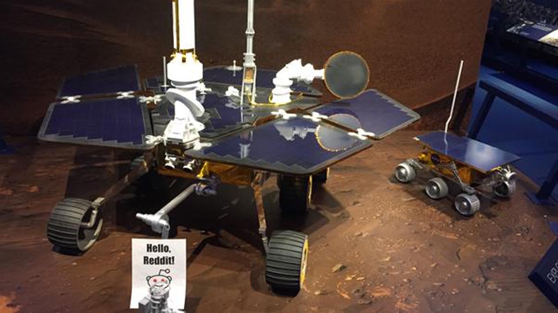 NASA's Real Martians