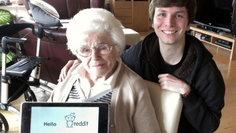 95 year old german woman